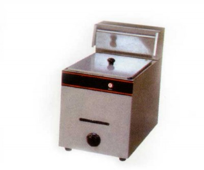 Gas-Fryer-Single